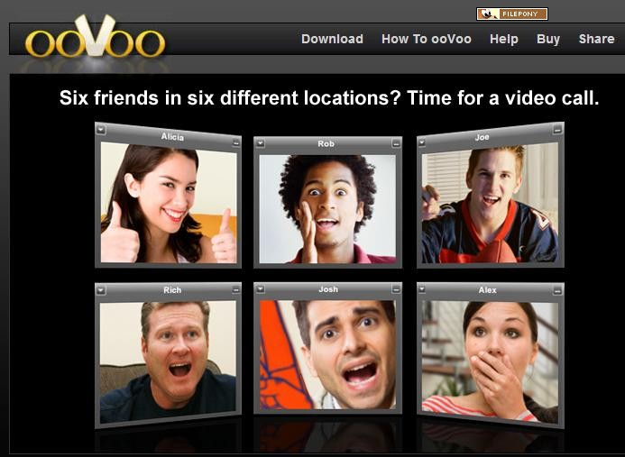 Download the latest version of ooVoo free in English on