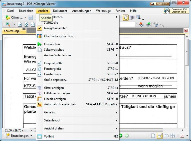 pdf xchange viewer downloads
