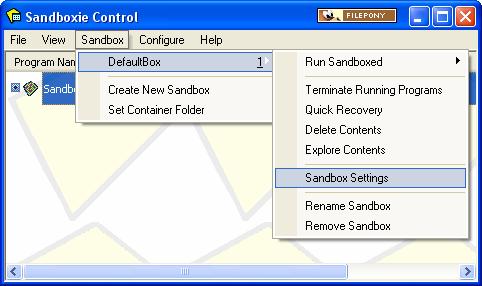 Sandboxie - Download - Filepony