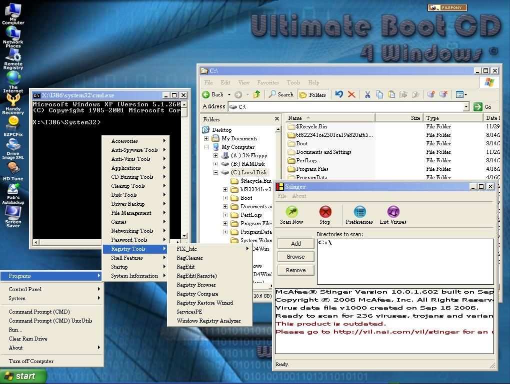 ultimate boot cd f r windows download filepony. Black Bedroom Furniture Sets. Home Design Ideas